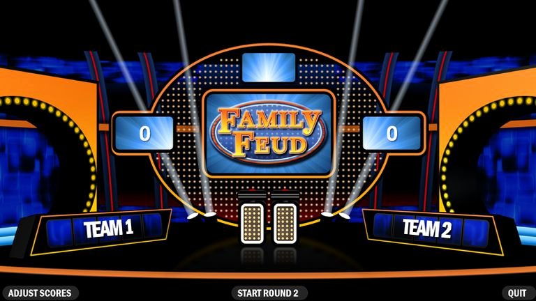 Free Family Feud Templates Elegant 6 Free Family Feud Powerpoint Templates for Teachers