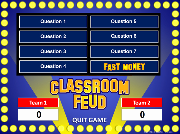 Free Family Feud Templates Fresh 101 English Language Arts Websites for Teachers