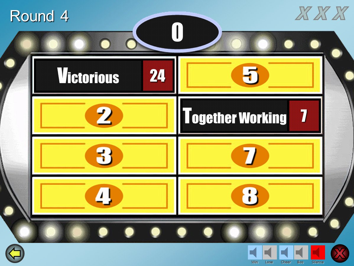 Free Family Feud Templates Fresh Family Feud Customizable Powerpoint Template Youth