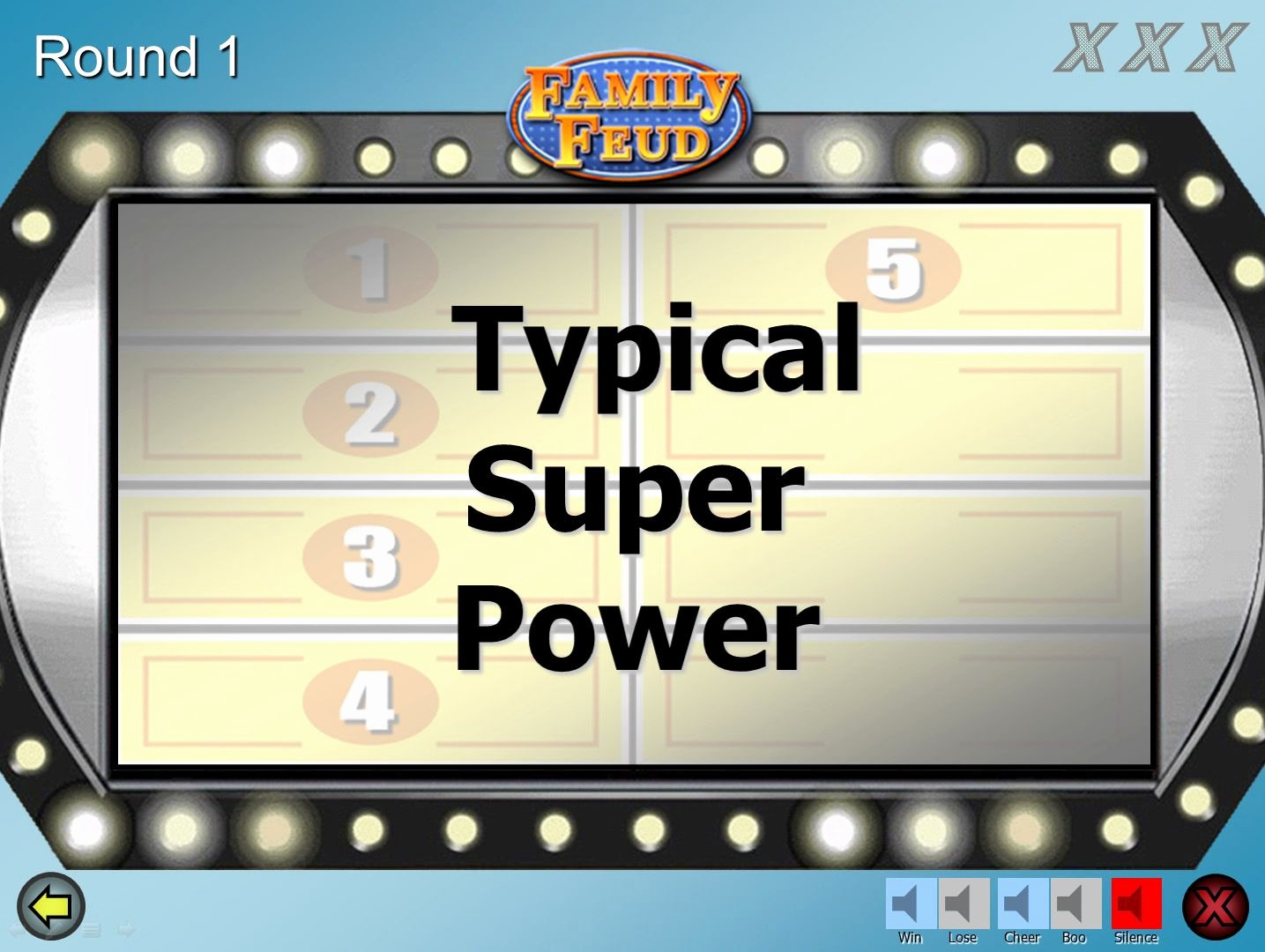 Free Family Feud Templates Inspirational A Customizable Family Feud Powerpoint Game