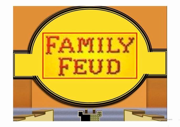 Free Family Feud Templates Unique Family Feud Game Power Point Template Worksheet Free Esl