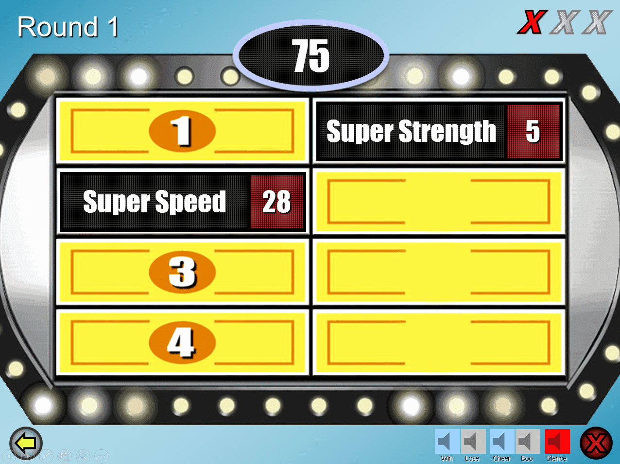 Free Family Feud Templates Unique Free Family Feud Powerpoint Templates for Teachers