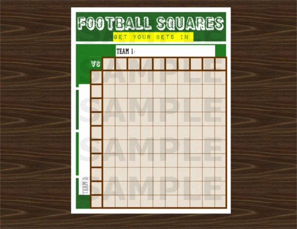 Free Football Pool Template Fresh 19 Football Pool Templates Word Excel Pdf