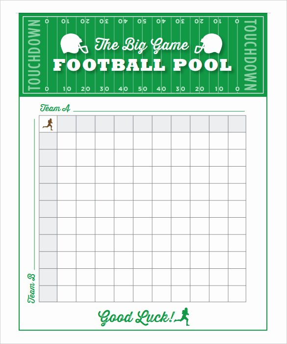 Free Football Pool Template Lovely 19 Football Pool Templates Word Excel Pdf