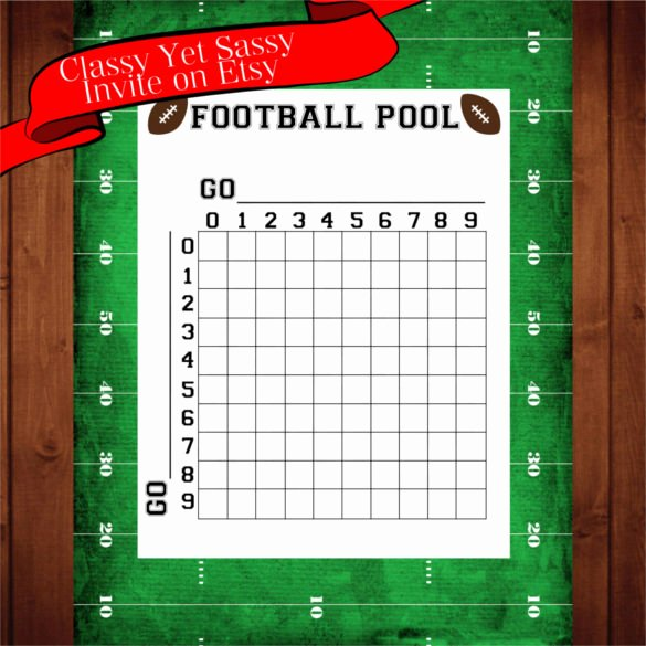 Free Football Pool Template Unique 19 Football Pool Templates Word Excel Pdf