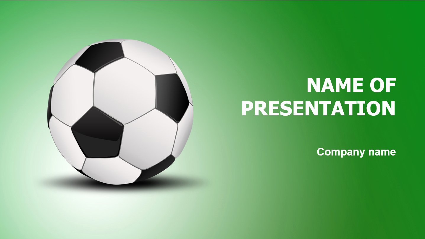 Free Football Powerpoint Template Awesome Download Free Football Game Powerpoint Template for Your