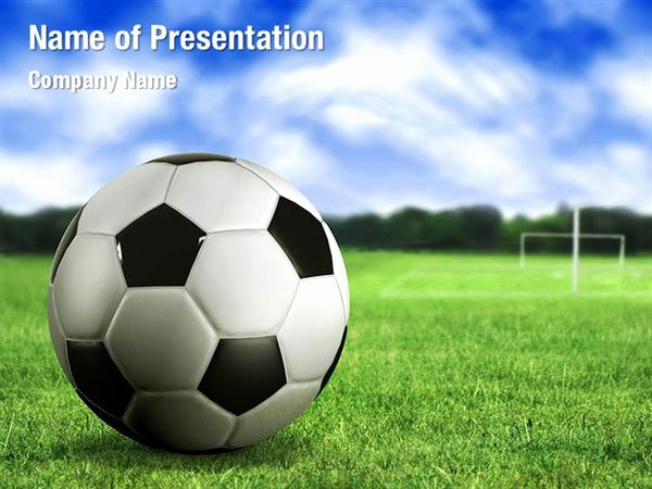 Free Football Powerpoint Template Awesome Football Field Powerpoint Templates Football Field