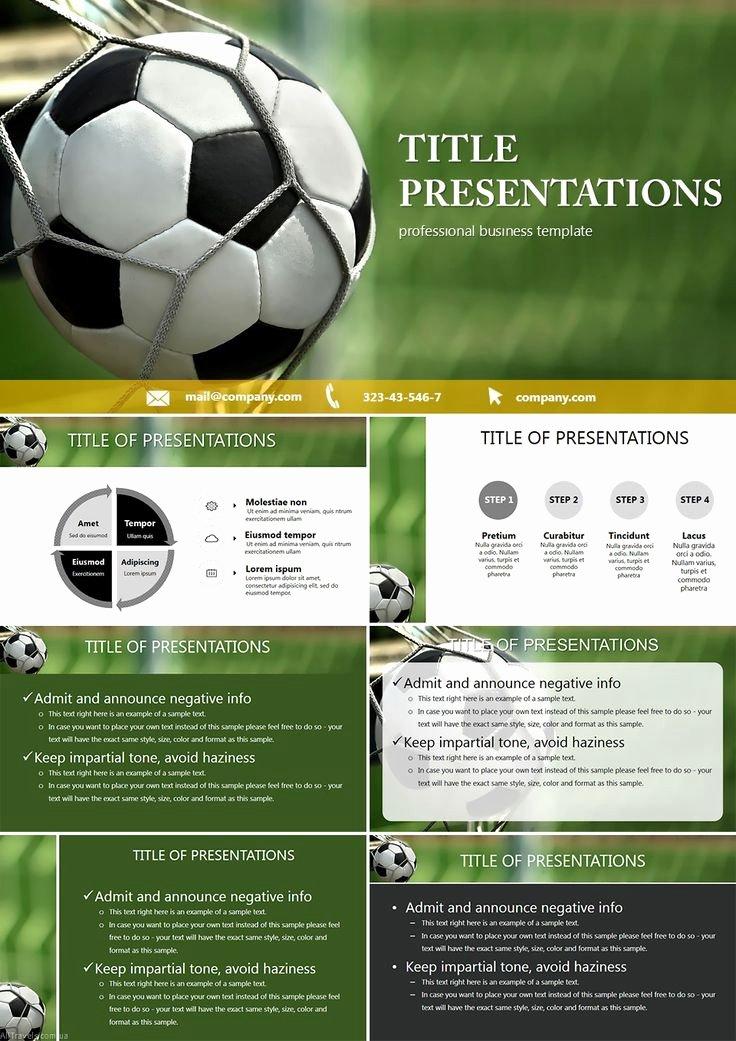 Free Football Powerpoint Template Elegant 12 Best Free soccer Powerpoint Templates Images On