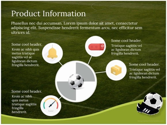 Free Football Powerpoint Template Inspirational Football Template Free