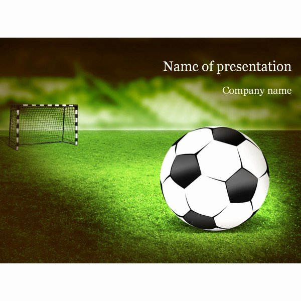 Free Football Powerpoint Template New Free Football Powerpoint Templates