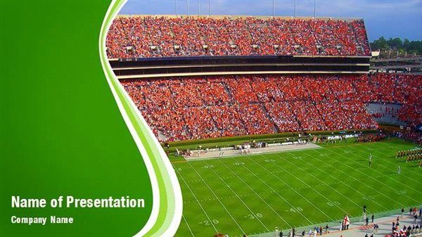 Free Football Powerpoint Template Unique Football Stadium Powerpoint Templates Football Stadium
