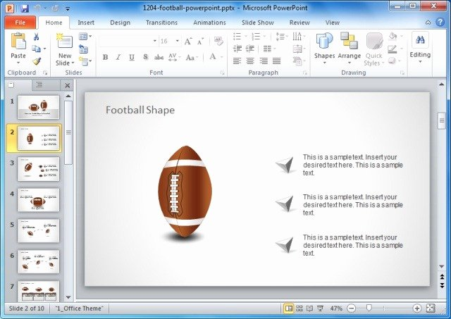 Free Football Powerpoint Template Unique Game Plan Powerpoint Templates for Sports and Strategic