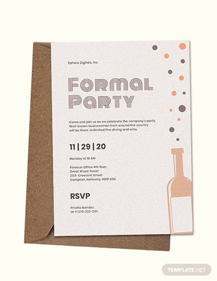 Free formal Invitation Template Fresh Free formal Invitation Template Download 537 Invitations