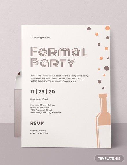 Free formal Invitation Template Luxury Free formal Invitation Template Download 508 Invitations