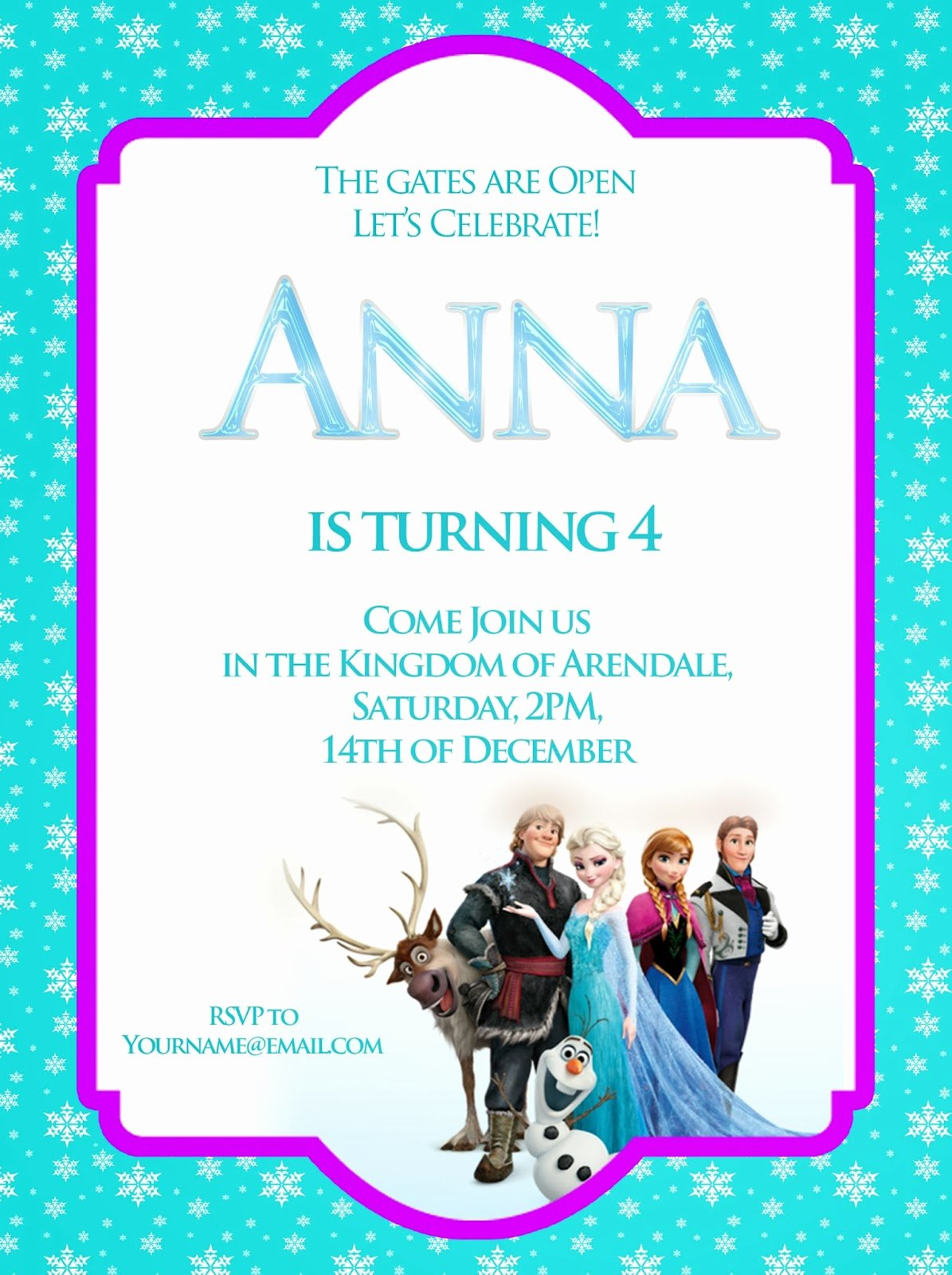 Free Frozen Invitation Templates Awesome I Make I Disney Frozen Free Printable Invitation