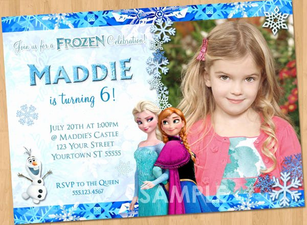 Free Frozen Invitation Templates Best Of 13 Frozen Invitation Templates Word Psd Ai