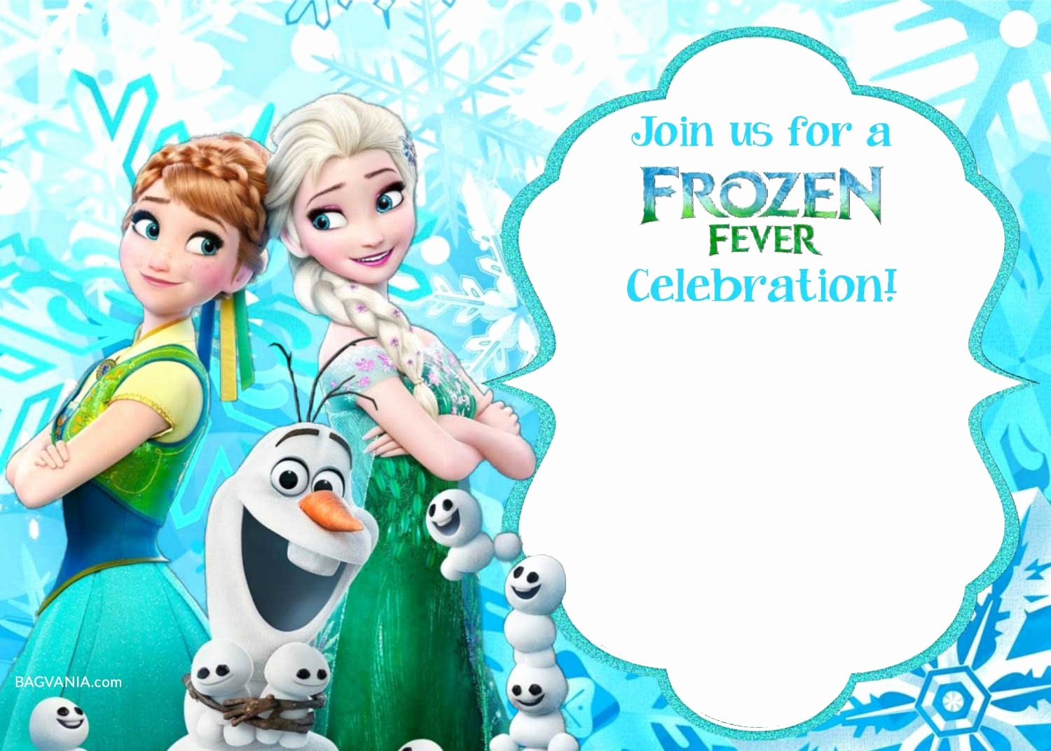 Free Frozen Invitation Templates Best Of Free Printable Frozen Invitation Templates – Bagvania Free