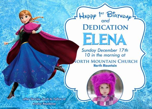 Free Frozen Invitation Templates Elegant Free Frozen Invitation Template