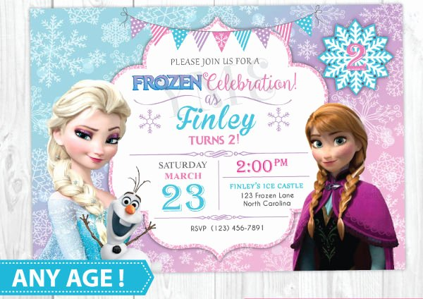Free Frozen Invitation Templates Luxury 13 Frozen Invitation Templates Word Psd Ai