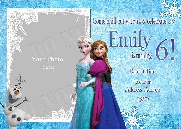 Free Frozen Invitations Template Beautiful Elsa Frozen Birthday Party Invitation Ideas – Bagvania