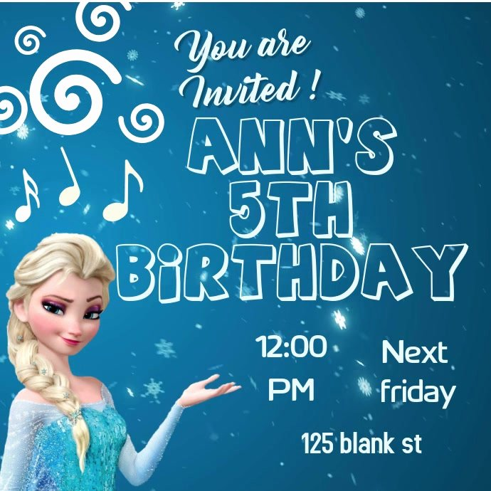 Free Frozen Invitations Template Lovely Frozen Invitation Template
