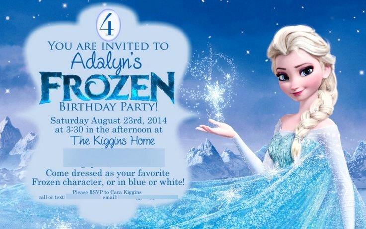 Free Frozen Invitations Template Luxury 25 Best Ideas About Free Frozen Invitations On Pinterest