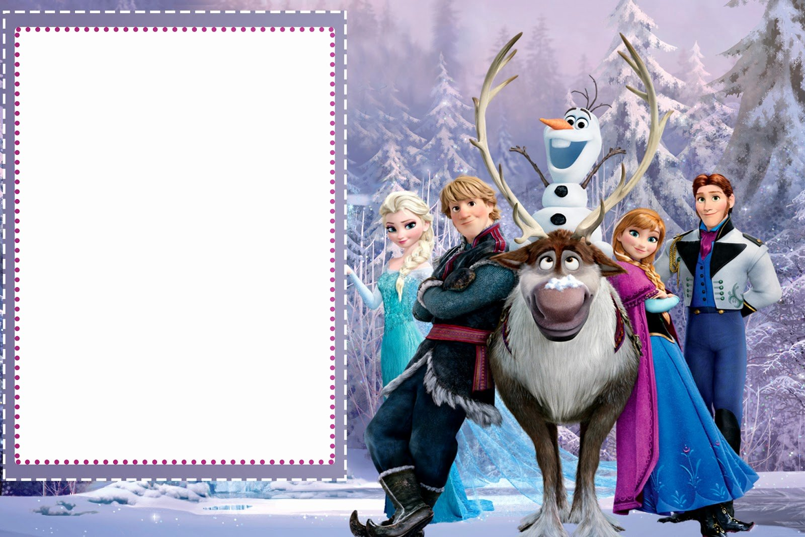 Free Frozen Invitations Template Unique Frozen Free Printable Cards or Party Invitations Oh My