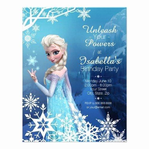 Free Frozen Invitations Templates Inspirational Birthday Party Invitations Templates