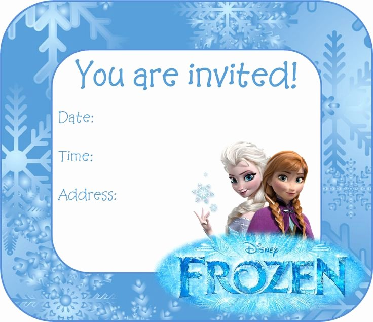 Free Frozen Invitations Templates Luxury 25 Best Ideas About Free Frozen Invitations On Pinterest