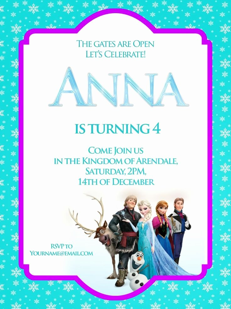 Free Frozen Invite Template Best Of Free Printable Frozen Pictures