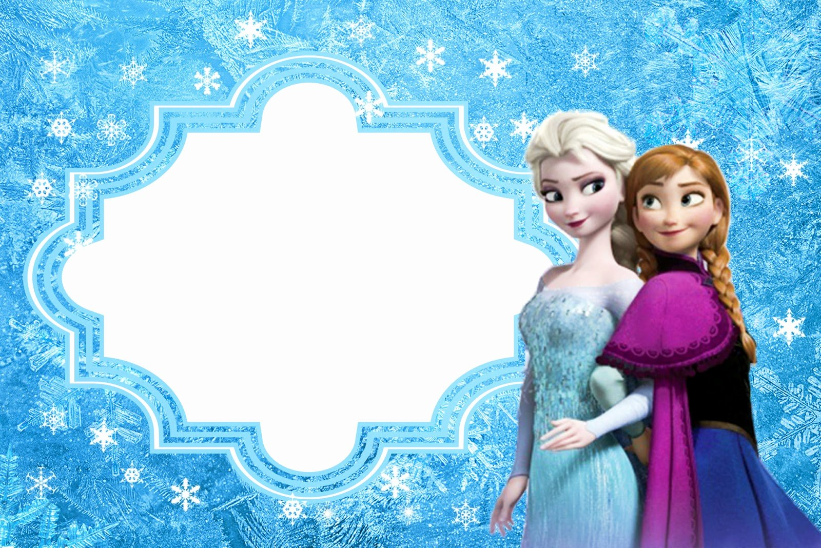 Free Frozen Invite Template Elegant Frozen Free Printable Cards or Party Invitations Oh My