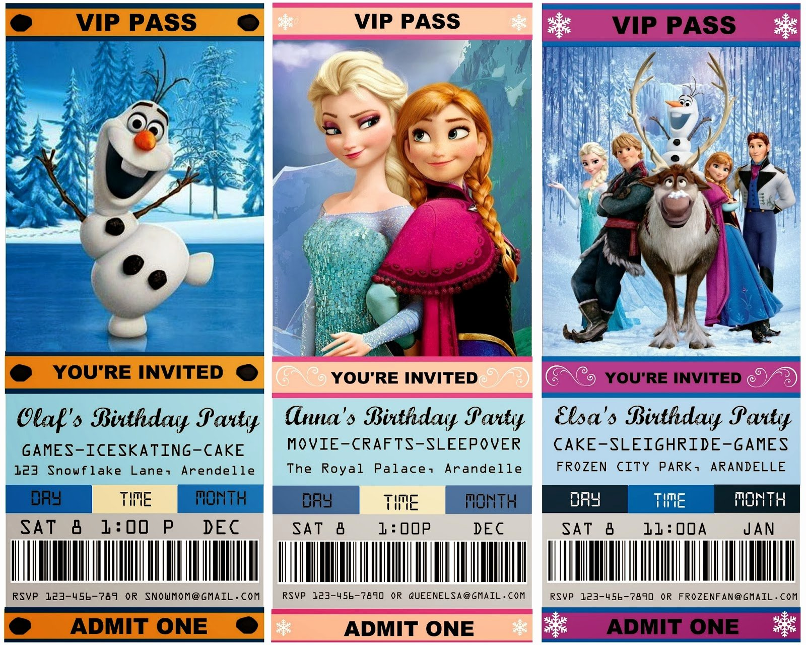 Free Frozen Invite Template Fresh 12 Cool Frozen Party Ideas