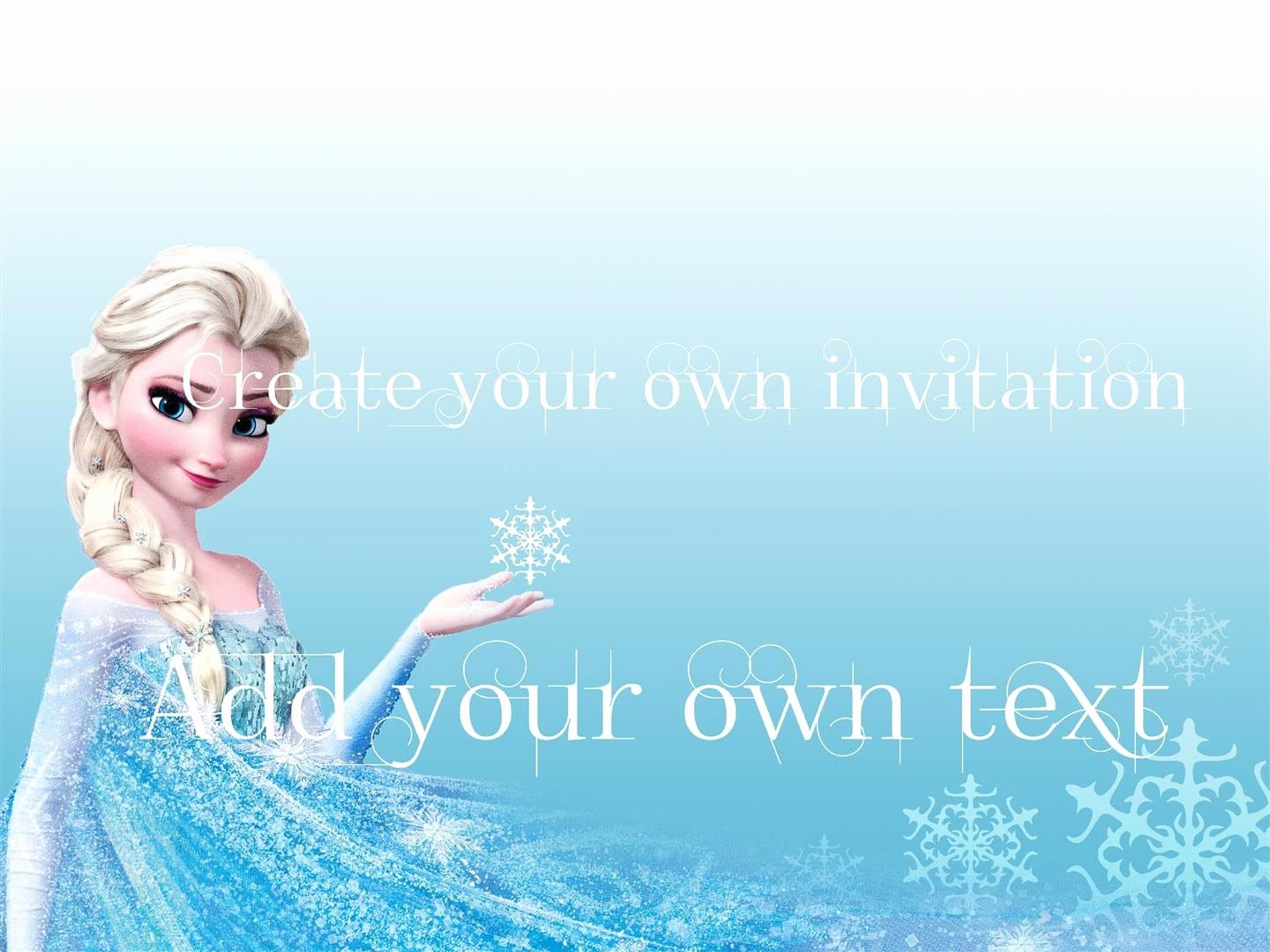 Free Frozen Invite Template Inspirational Free Download Frozen Invitations