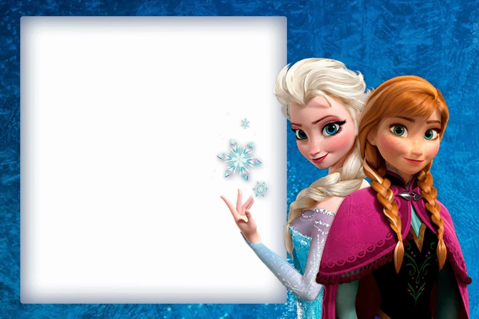 Free Frozen Invite Template Lovely Frozen Cute Free Printable Invitations A Few Nice Ones