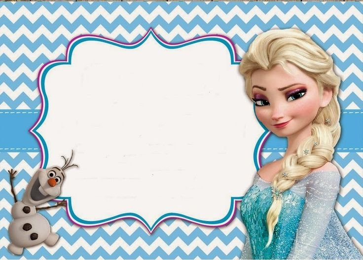 Free Frozen Invite Templates Awesome Frozen Invitaciones Para Imprimir Gratis