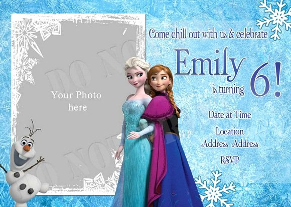 Free Frozen Invite Templates Inspirational Elsa Frozen Birthday Party Invitation Ideas – Bagvania