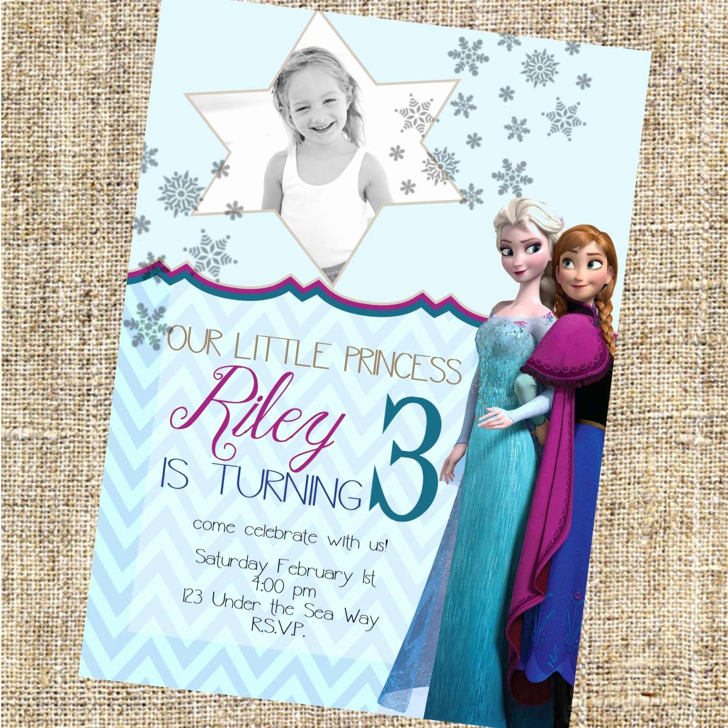 Free Frozen Invite Templates Luxury Image for Frozen Birthday Invitations Free Templates
