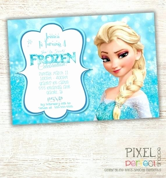 Free Frozen Invite Templates Unique Best 25 Free Frozen Invitations Ideas On Pinterest