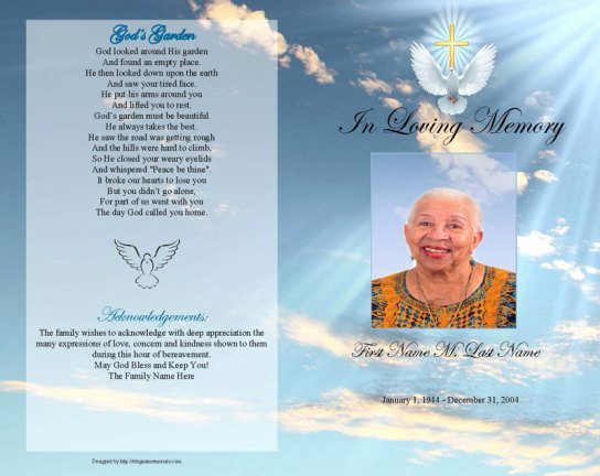 Free Funeral Program Backgrounds Beautiful 6 Free Funeral Program Templates Microsoft Word Website