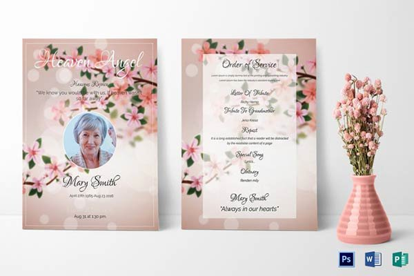 Free Funeral Program Samples Lovely Our Favorite Actually Free Funeral Program Templates