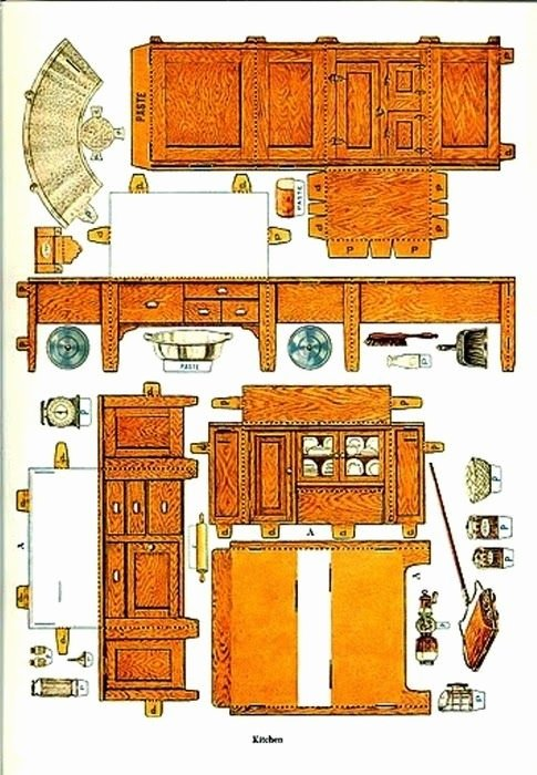 Free Furniture Templates to Print Awesome 625 Best Images About Dolls House Printables Furniture