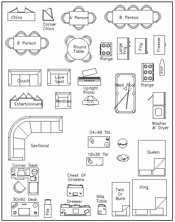 Free Furniture Templates to Print Best Of Free Printable Furniture Templates