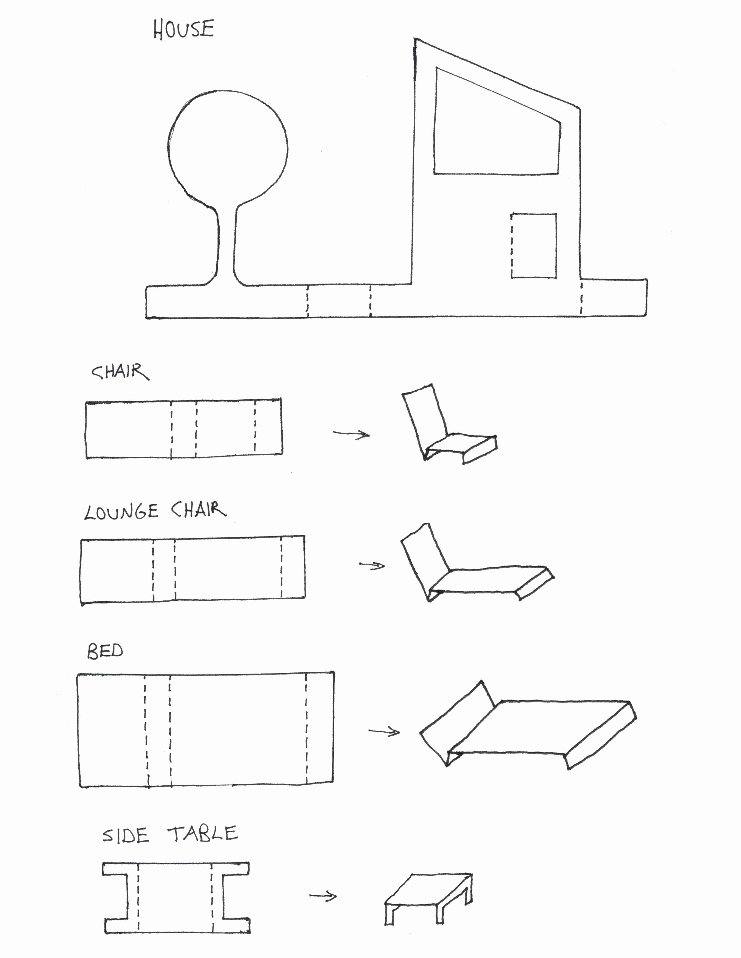 Free Furniture Templates to Print Lovely Made by Joel Paper Dollhouses