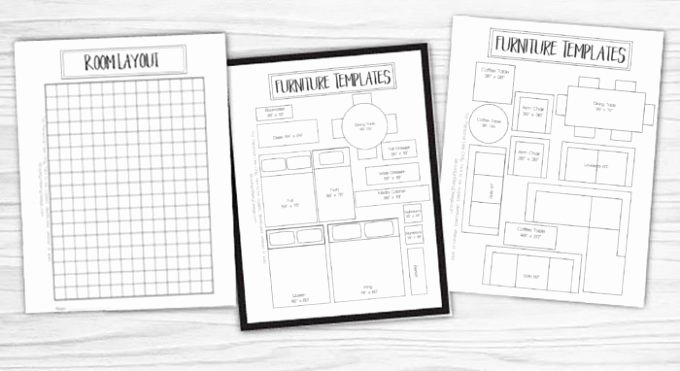 Free Furniture Templates to Print New Free Printable Room Planner Brooklyn Berry Designs