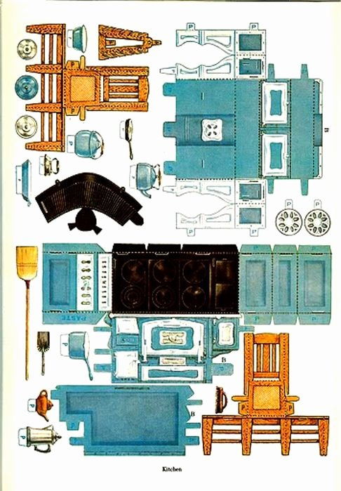 Free Furniture Templates to Print New Printable Paper Dollhouse and Furniture From the Japanese