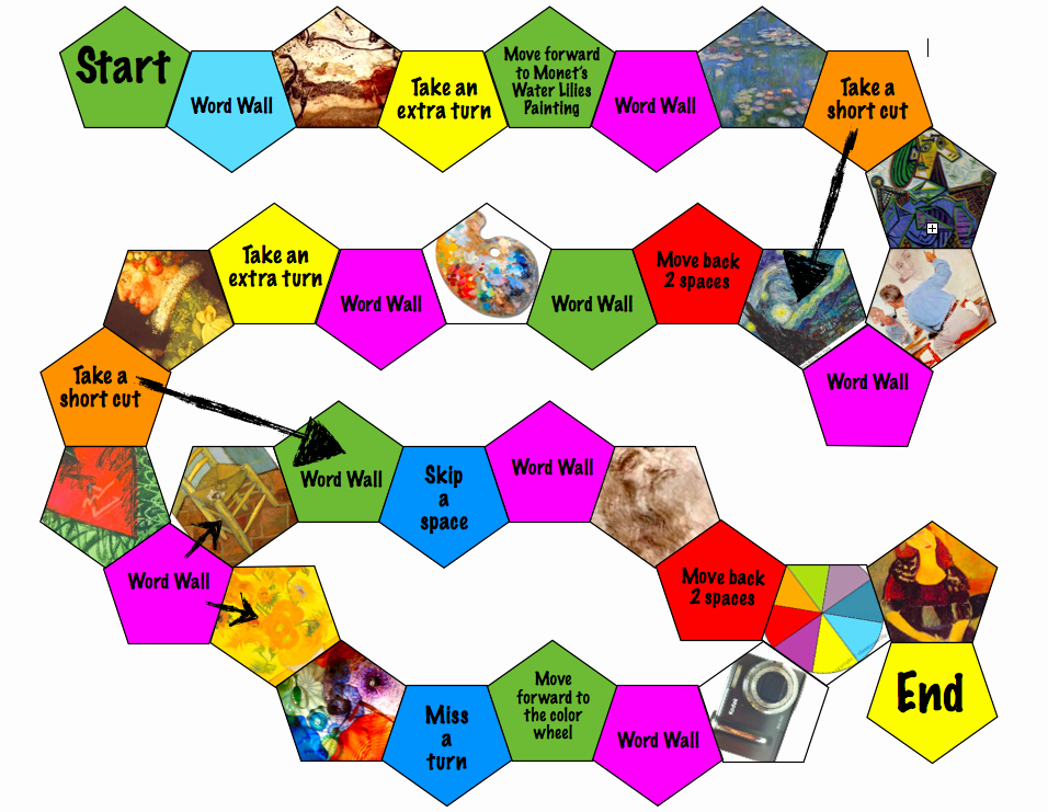 Free Game Board Template Awesome Board Game Template