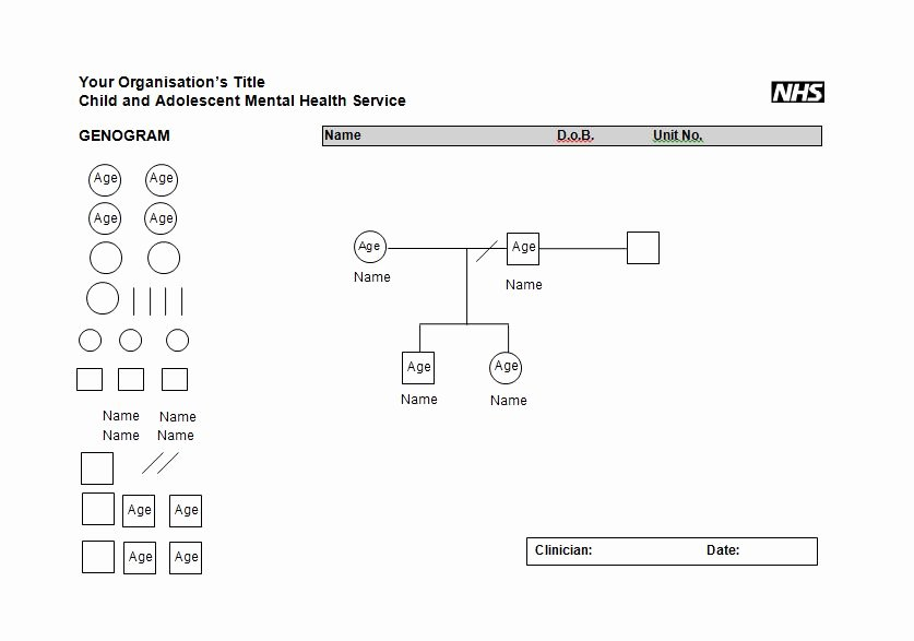 Free Genogram software for Mac Inspirational 30 Free Genogram Templates & Symbols Template Lab