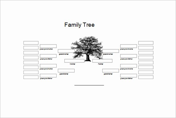 Free Genogram Template for Word Inspirational Free Genogram Templates 8 Family Word Powerpoint