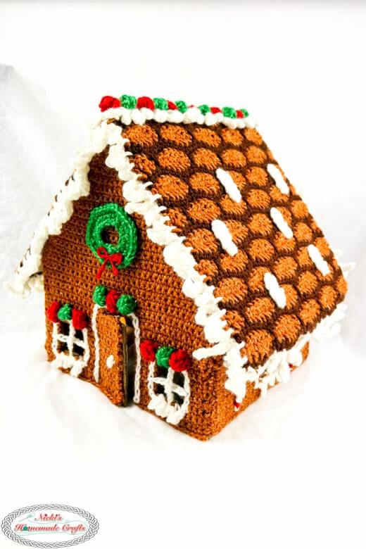 Free Gingerbread House Patterns Awesome How to Crochet A Gingerbread House for Christmas Free