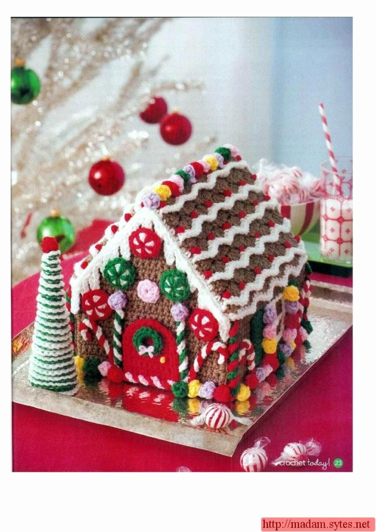 Free Gingerbread House Patterns Best Of Crochet Gingerbread House Crochet Pattern ⋆ Crochet Kingdom